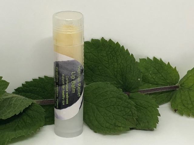 Herbal Relief Lip Balm Natural Cold Sore Remedy